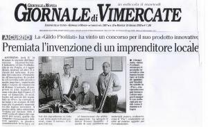 Giornale di Vimercate, 25 Giugno 2002