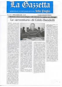 La Gazzetta della Puglia, Aprile-Giugno 2005