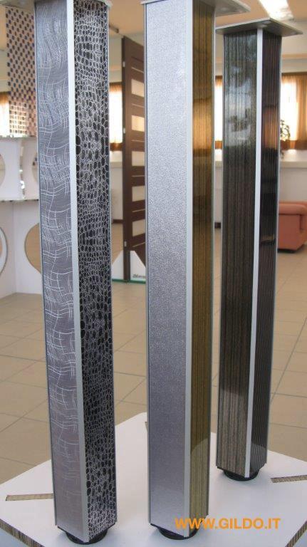 Gambe per tavoli e scrivanie di gildo profilati gildo for Gambe tavoli design