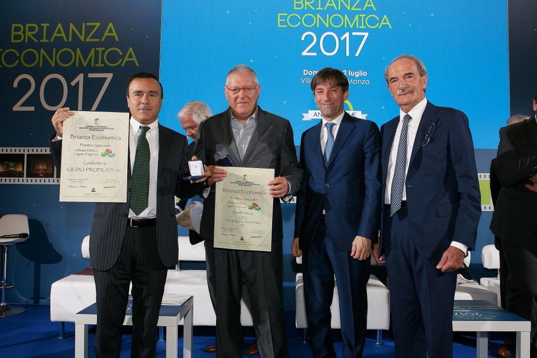 Gildo Profilati Premiata a Brianza Economica 2017 - Miglior Fornitore