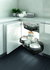 Pull-Out Kitchen Cabinets & Sliding Storage Baskets