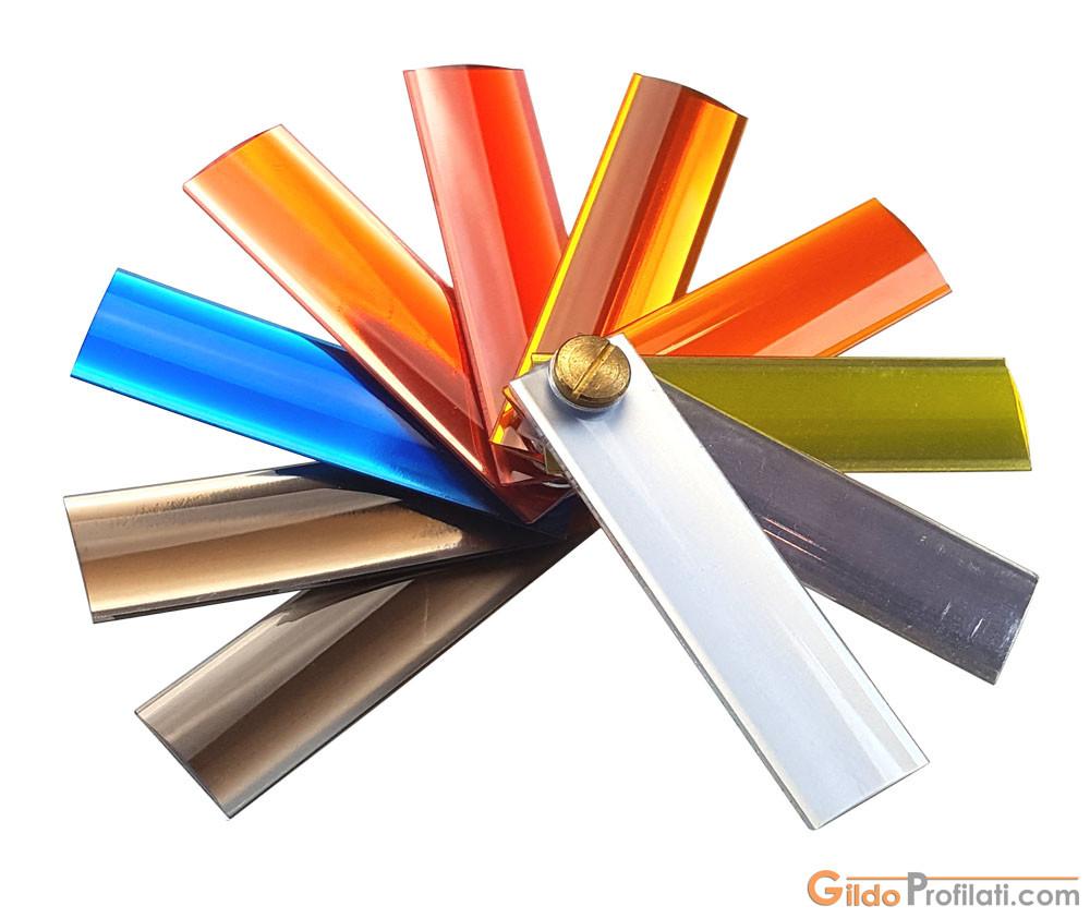 Ventaglio di bordi piatti per Bordatrici Automatiche di Gildo Profilati - Edgebandings