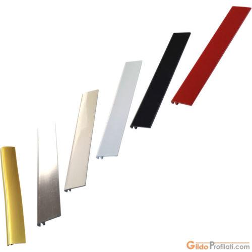 Gamma dei colori per il Profilo T95 per Lettere Scatolate