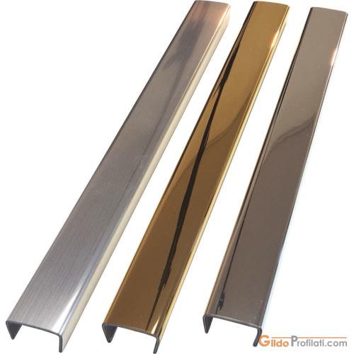 Gamma dei Profili T284 per decorare porte, mensole, ripiani o finestre