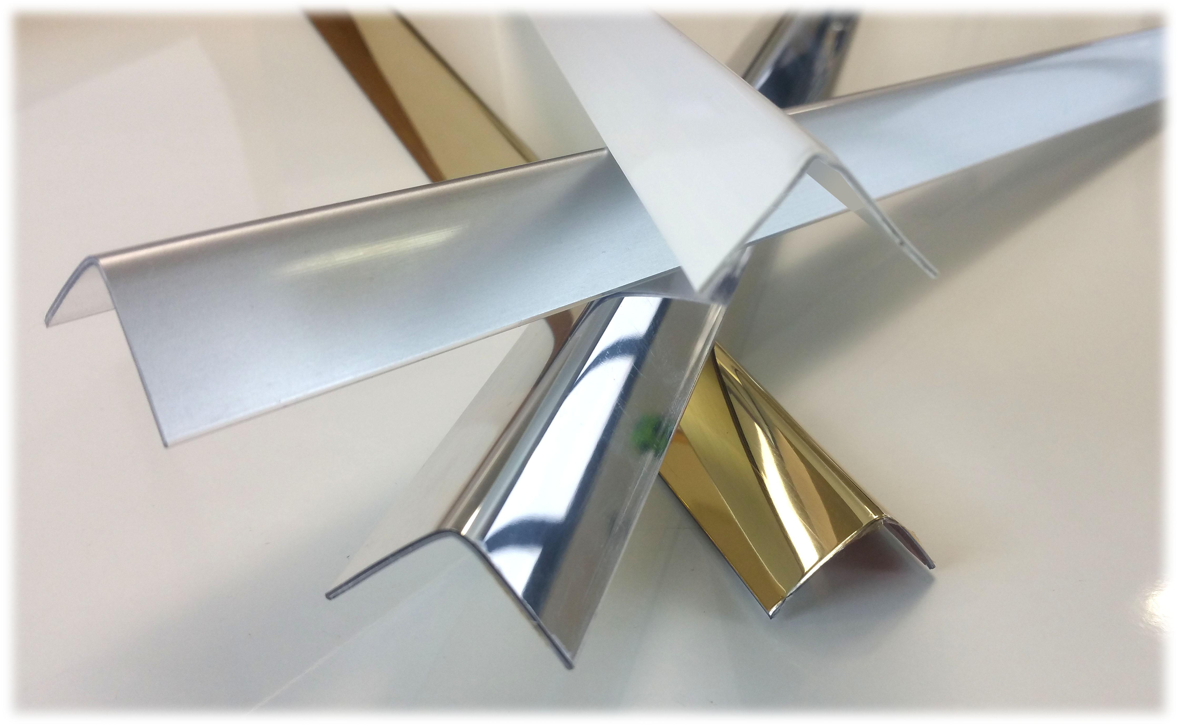 Profili Angolari Paraspigoli in alluminio PVC legno