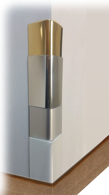 Wall Corner Guards & Decorative Edge Protectors - Gildo profilati