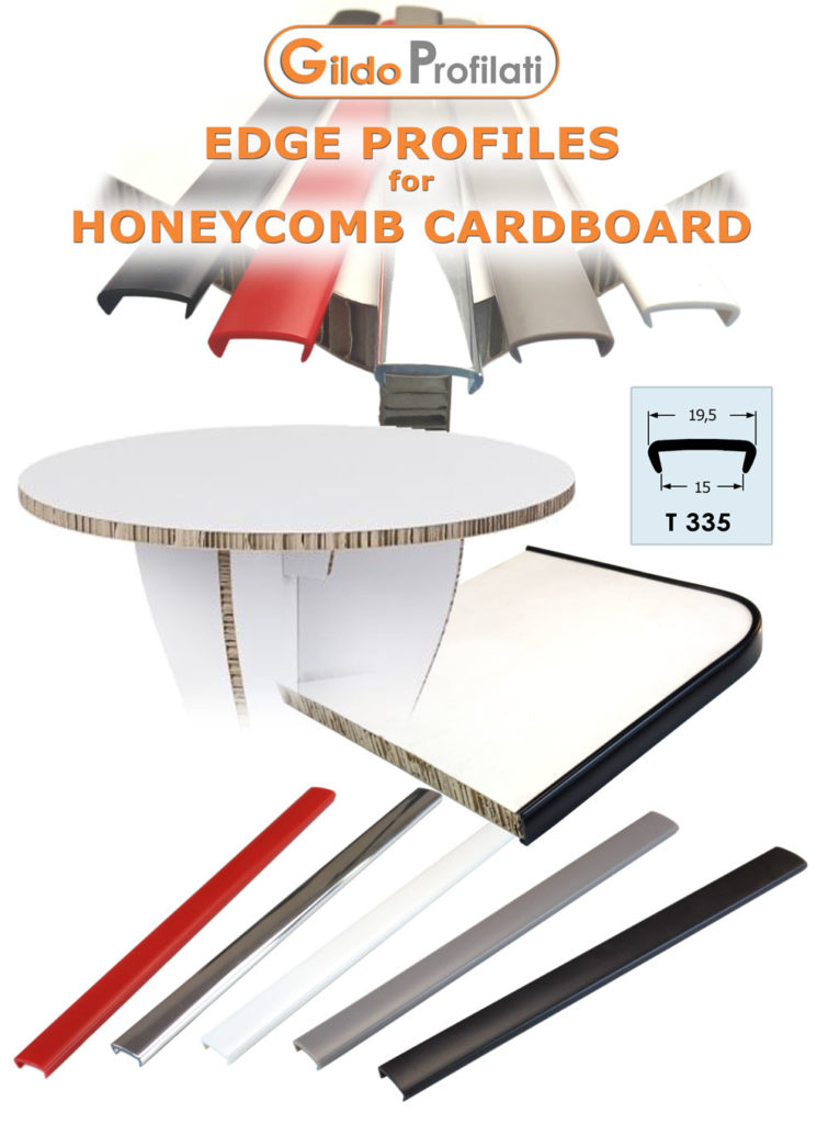 Profiles for Honeycomb Cardboard