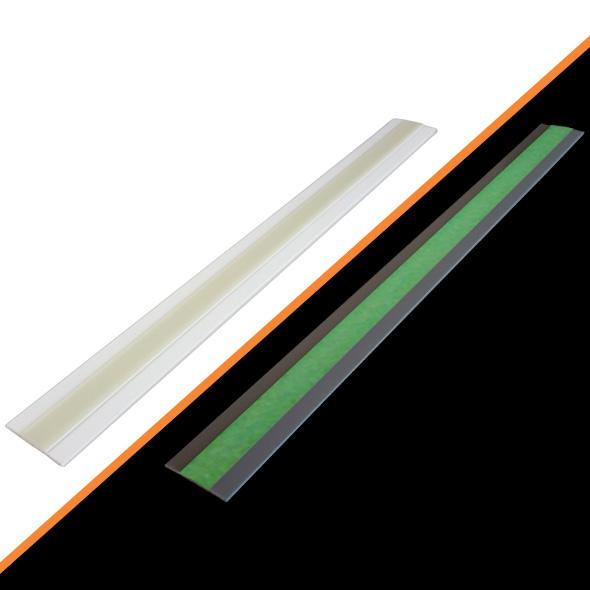 Profili Adesivi Fotoluminescenti in alluminio e resine polimeriche
