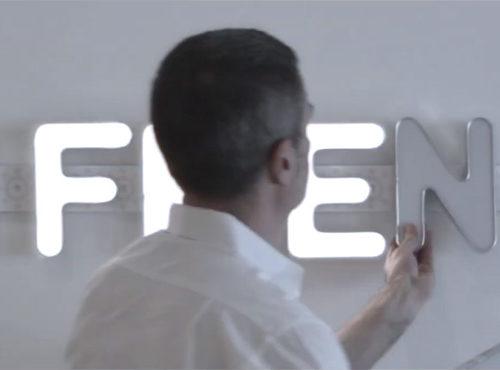 WOW LUX - Soluzione per illuminare le lettere scatolare