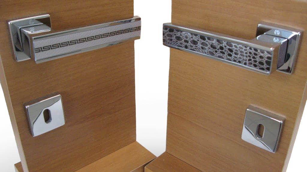 Decorazioni per maniglie per porte da interni