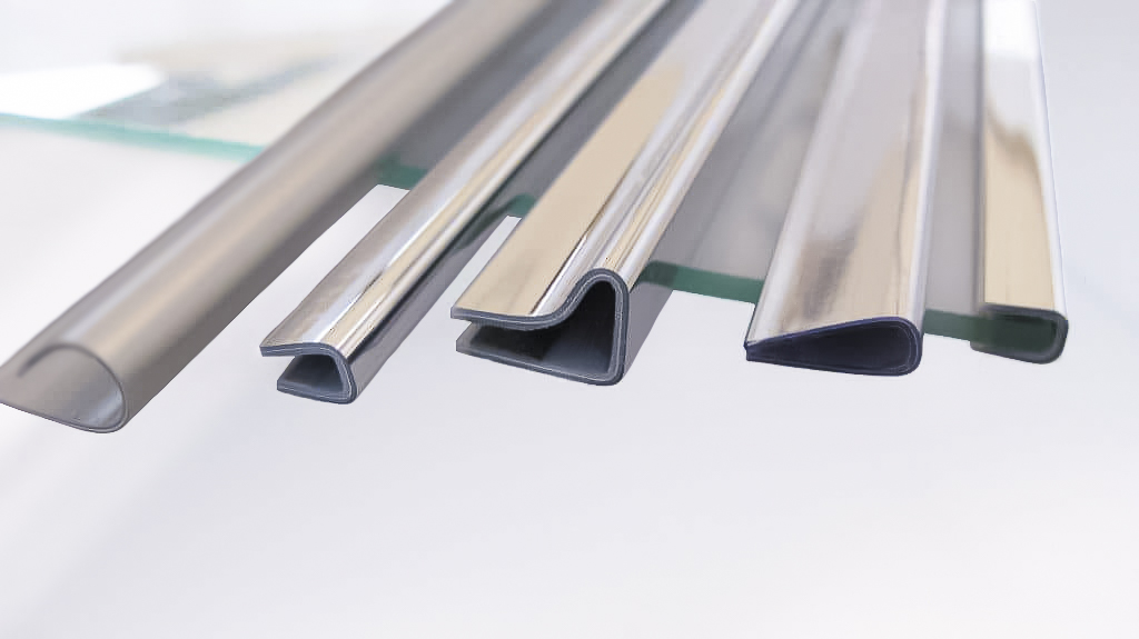 Shelves trim for coolers and electrical household appliances