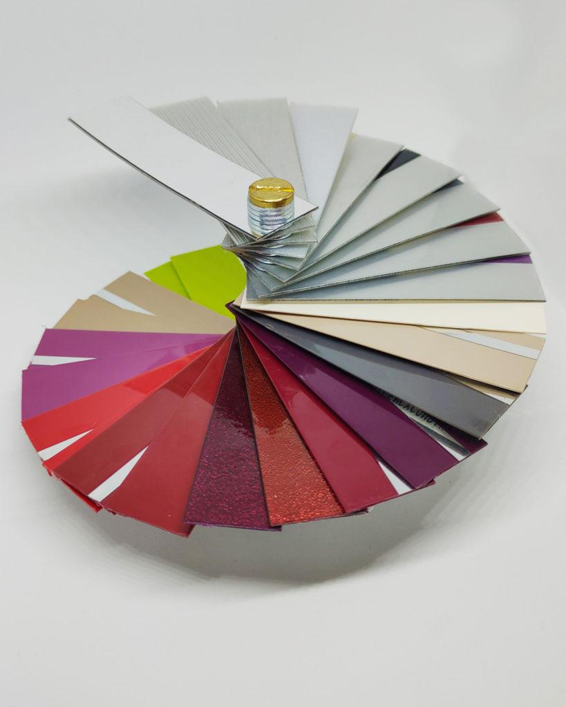Bordi in alluminio e acrilico per bordatrici automatiche